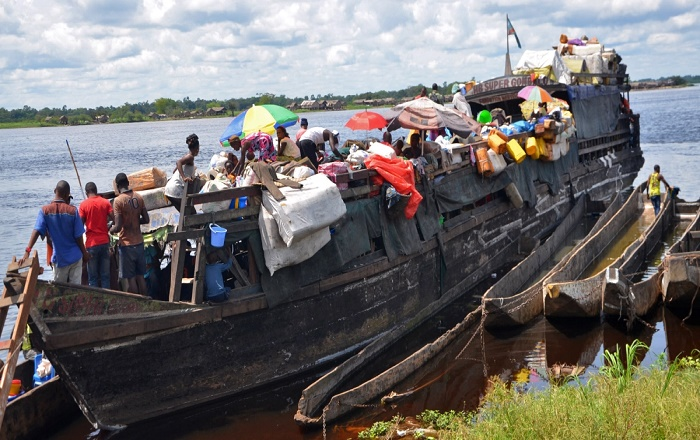60 killed, several missing as boat capsizes in Congo river