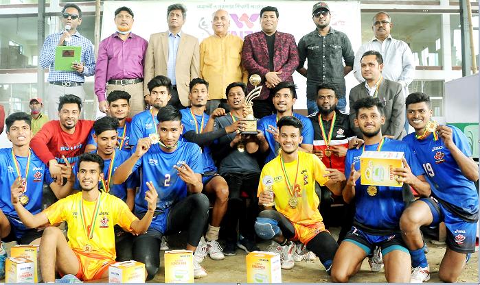 Bangabandhu Inter-District Volleyball: Panchagarh emerge champs