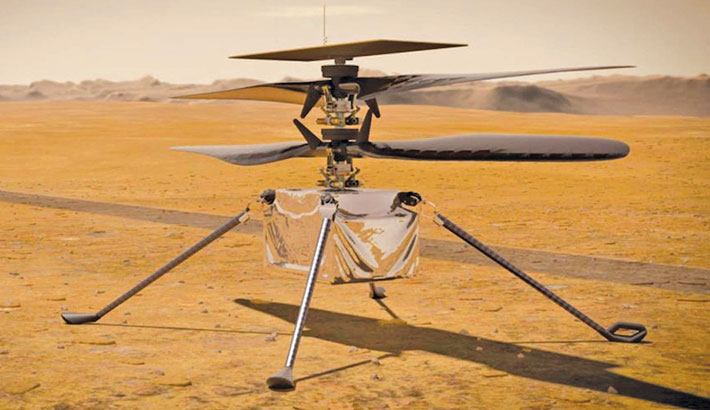 NASA wants to fly helicopter on Mars