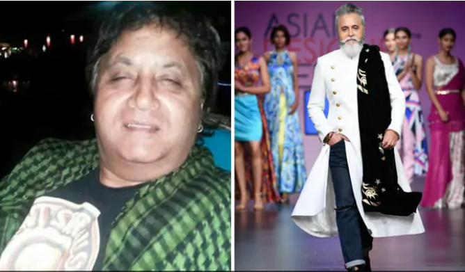 He lost 50 Kgs, became a model in his 50s