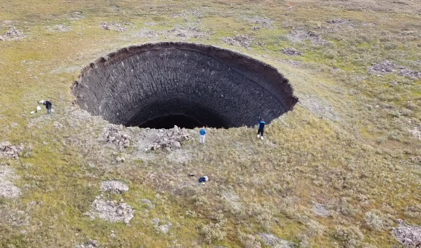 Mysteries of massive holes forming in Siberian permafrost unlocked by scientists