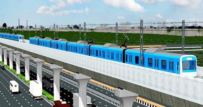 Inauguration of metro rail from Diabari to Agargaon on December 16
