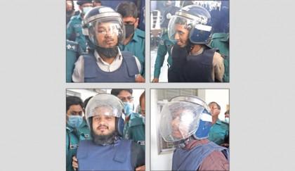Five militants to walk gallows