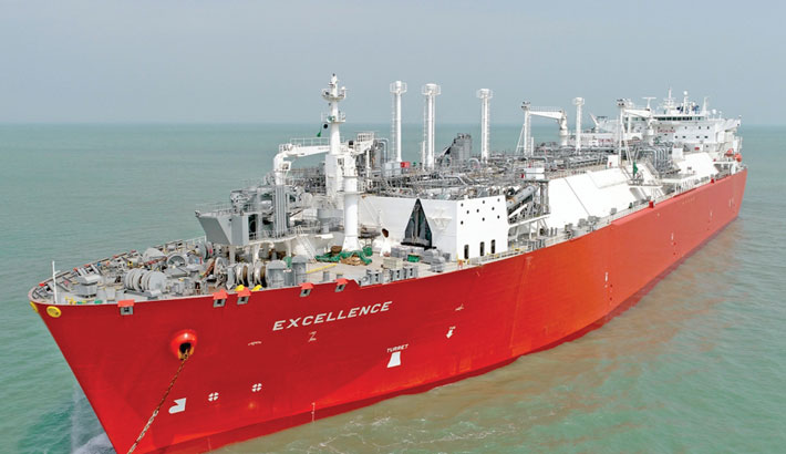 Govt to import 6.72m units LNG from Singapore