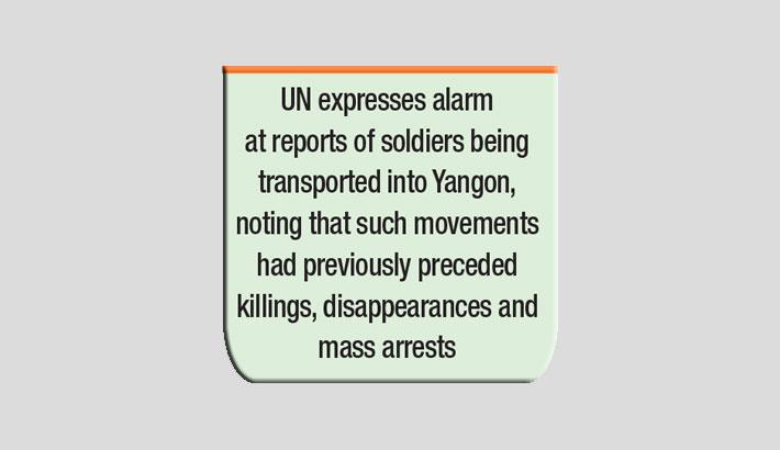 Massive protests in Myanmar despite UN fear of violence