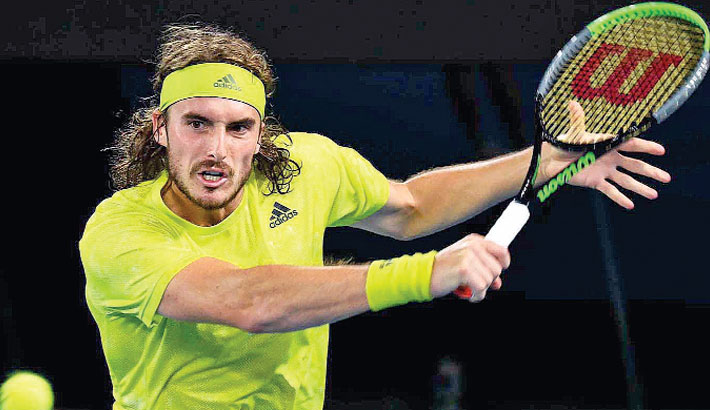Tsitsipas shocks Nadal in five-set thriller