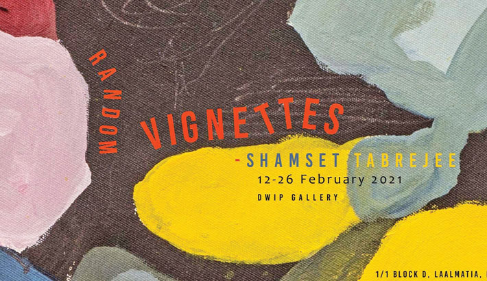 Painting exhibition 'Random Vignettes' at Dwip Gallery