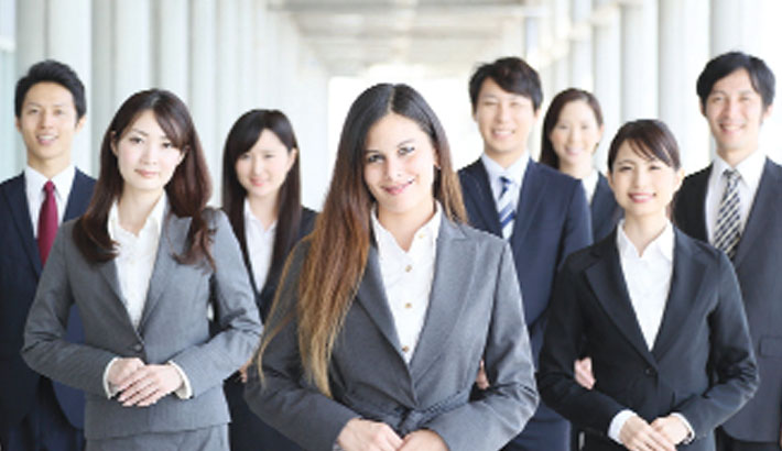 Japan's ruling party invites women to 'look not talk'