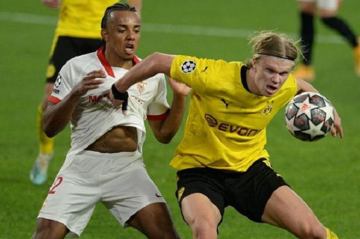 Lethal Haaland puts Dortmund in driving seat against Sevilla