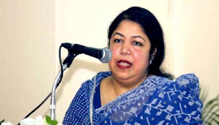 Shirin urges party men to remain alert against conspiracy