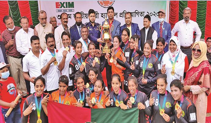 Ansar retain National Women's Handball title