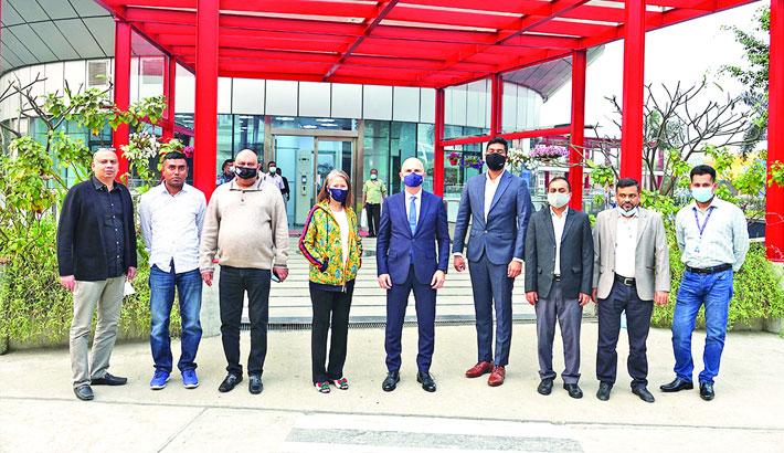 Turkish Ambassador visit to the AIUB campus