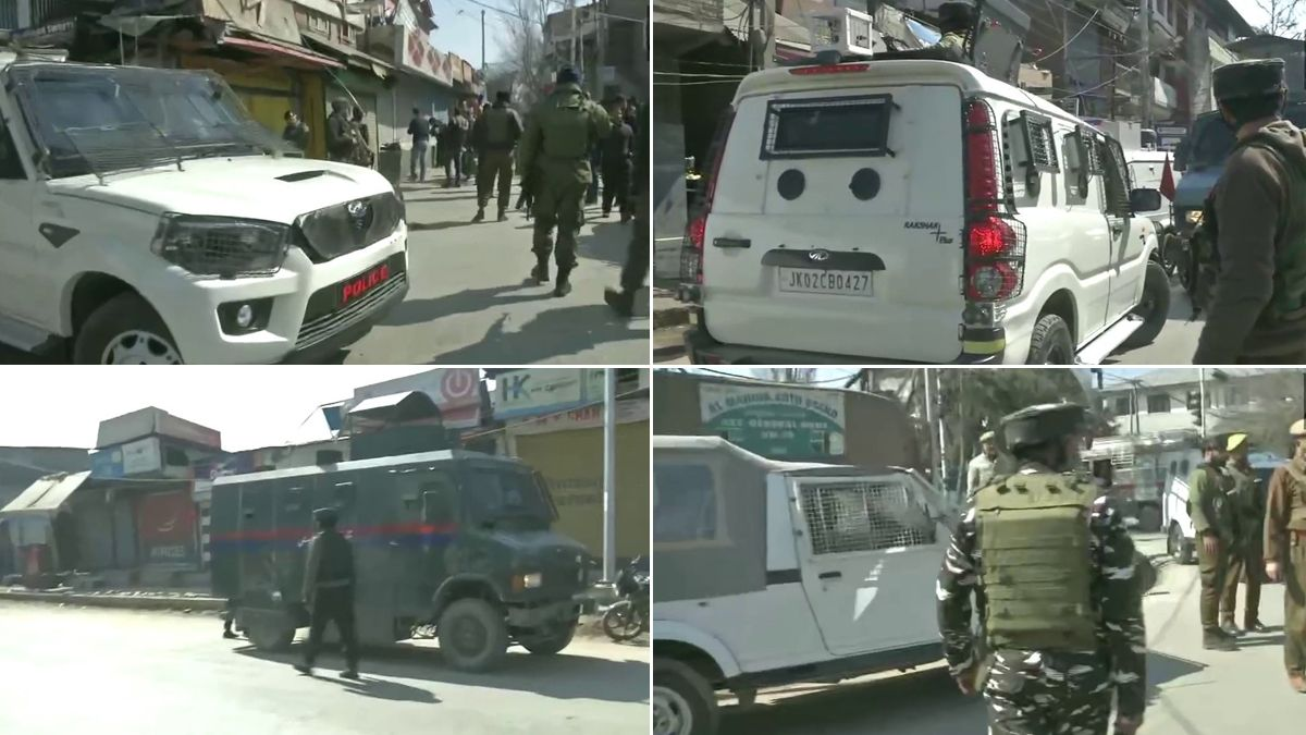 Terror Attack in Jammu and Kashmir: 2 cops dead after terrorists open fire at police party in Barzulla area of Srinagar; Incident caught on Camera