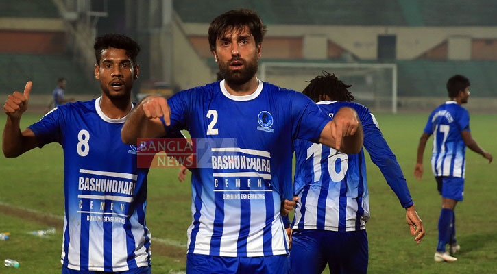 Sk Russel hold Abahani with late goal