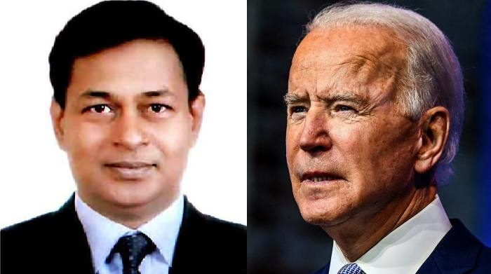 Biden accepts Bangladeshi envoy's credentials
