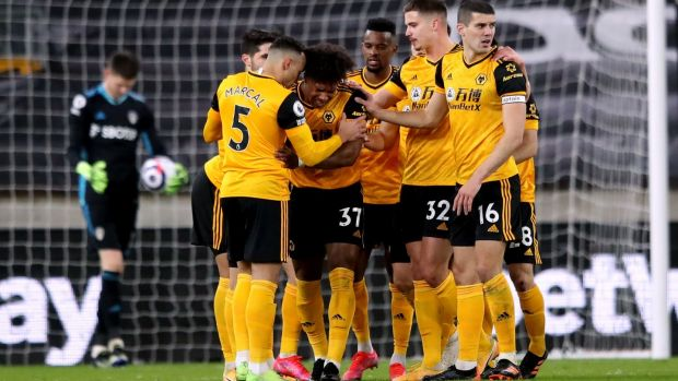 Meslier's own goal lifts Wolves above Leeds