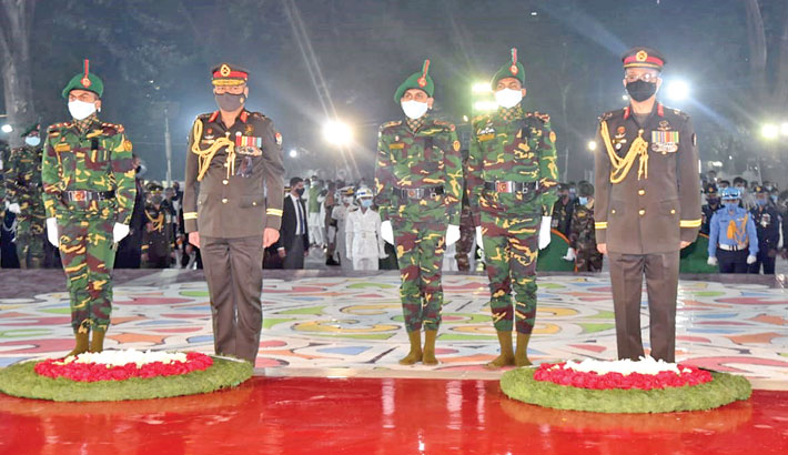 Nation remembers language martyrs