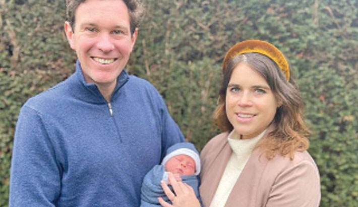Princess Eugenie, Jack Brooksbank reveal son's name