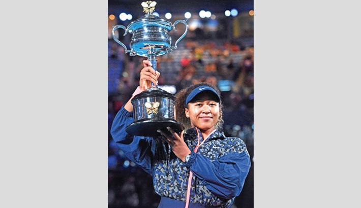 Osaka dominates Brady to win Australian Open