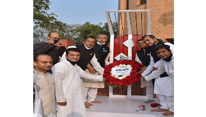 BD New Delhi mission pays homage to language martyrs