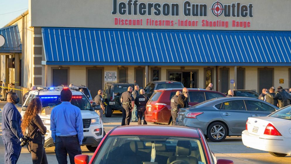 3 dead in gun store shooting in New Orleans suburb: Sheriff
