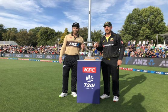 Australia to bowl in first New Zealand T20