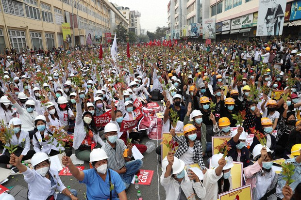Myanmar protest call for general strike draws junta threat of lethal force