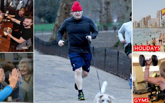 Boris Johnson set to take England out of lockdown