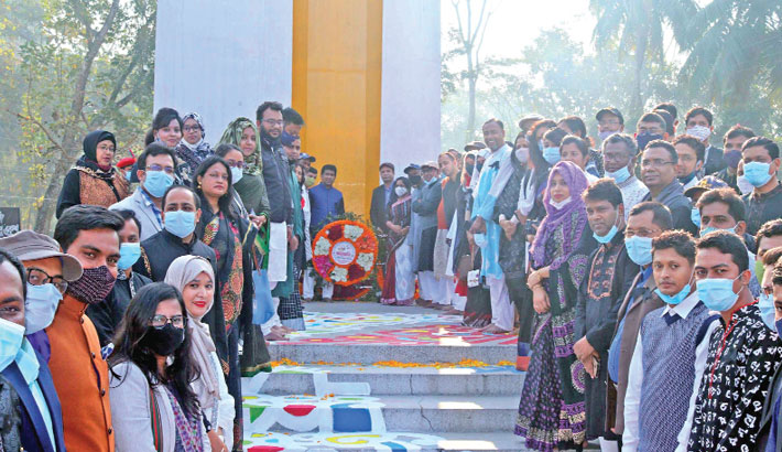 People from all walks of life pay homage to the martyrs