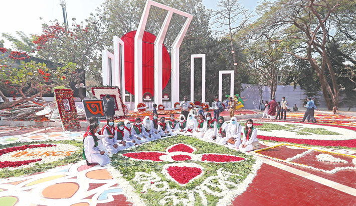 Nation pays homage to language martyrs