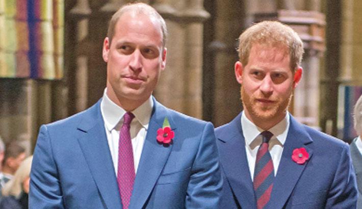 William 'sad and shocked' at Harry's behaviour
