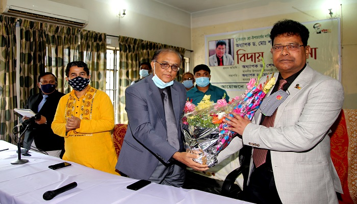 Outgoing IU Pro-VC accorded farewell