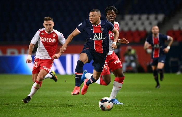 Monaco get better of old boy Mbappe to dent PSG hopes as Lille lead Ligue 1