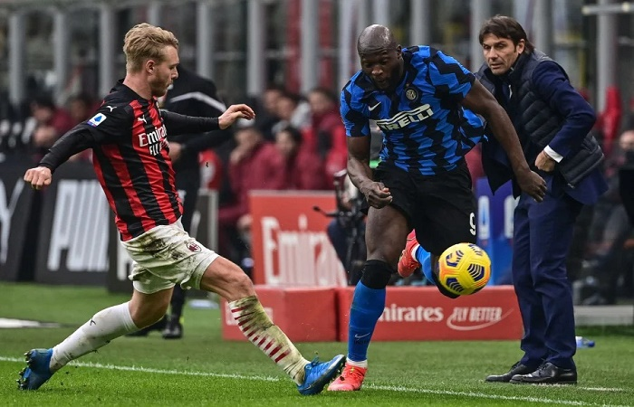 Inter crush AC Milan to pull clear in Serie A as Roma, Napoli lose ground