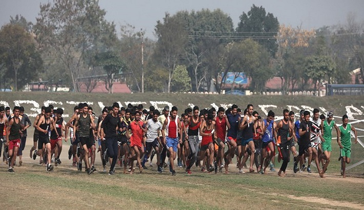 Overwhelming response to first Army recruitment rally in Jammu since COVID-19 outbreak