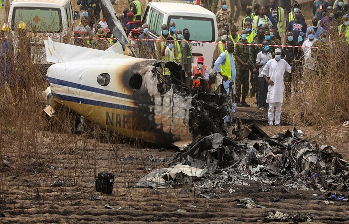 7 Nigerian military personnel die in plane crash