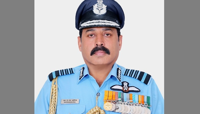 Visiting Indian Air chief lays floral wreath at 'Shikha Anirban'