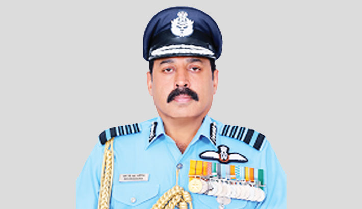 Indian Air Chief arrives in Dhaka