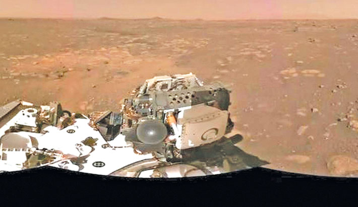 NASA releases first audio, video of rover landing on Mars