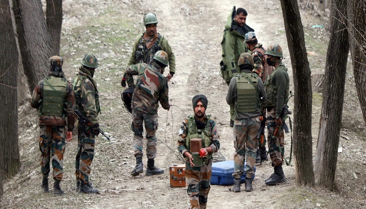 Indian Army battle school in Srinagar trains troops for counter-insurgency ops
