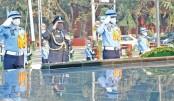 Indian Air Chief pays tribute at Shikha Anirban