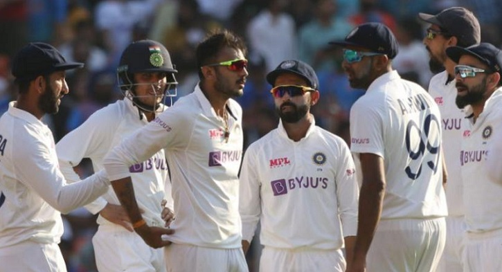 England collapse to 112 all out in India pink-ball Test