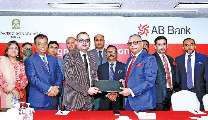 AB Bank, Hotel Sonargaon ink deal