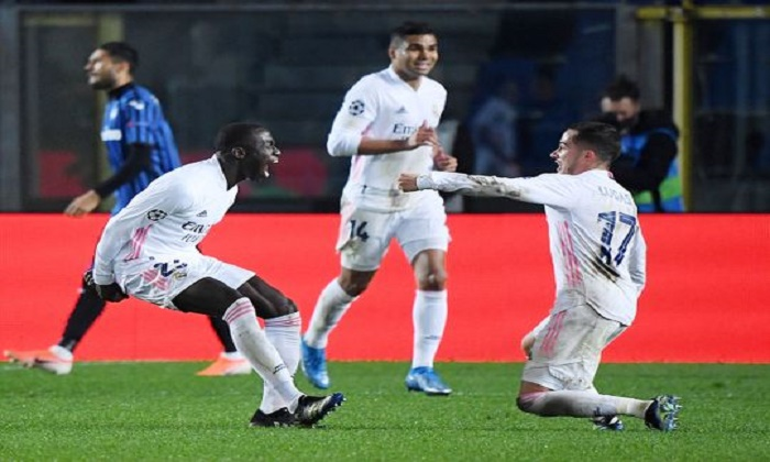 Mendy's late strike puts Real Madrid in sight of Champions League quarters