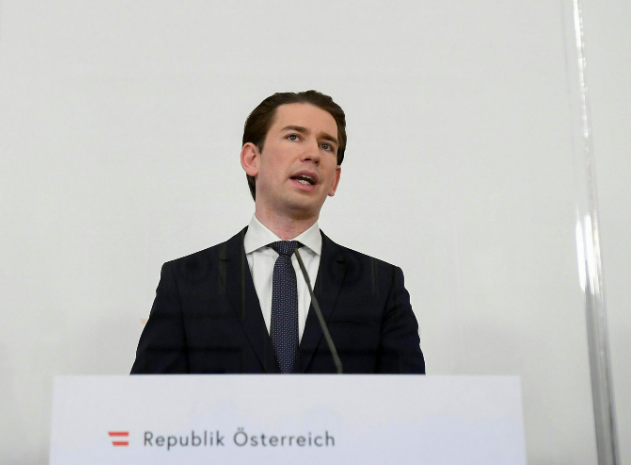 Austria's chancellor calls for 'Green Passports' for those vaccinated against coronavirus