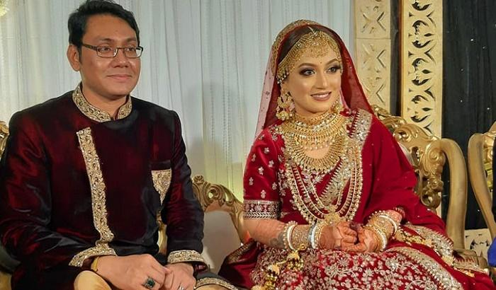 Singer Nishita Barua ties the knot