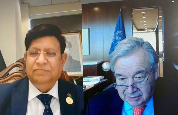 UN Secretary General lauds Bangladesh's COVID mitigation efforts
