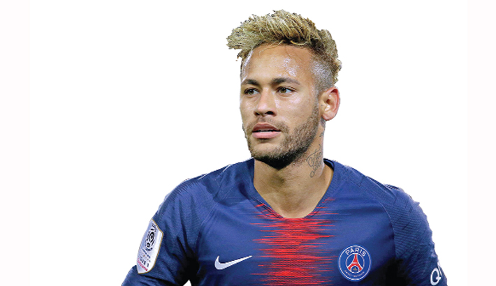 Contract talks with Neymar 'on track'