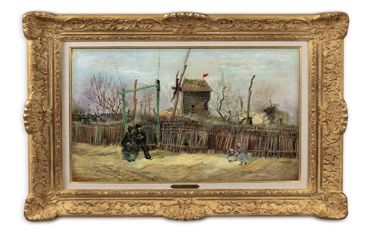 Unseen Vincent van Gogh painting of Paris goes on public display for the first time