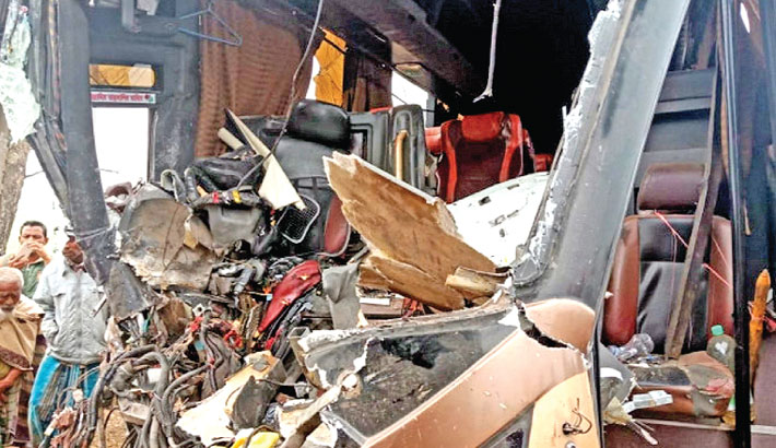 No respite from horrific road accidents